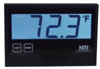 "Temperature/Humidity Sensor with 3-Digit 7-Segment LCD Display – 2"" Character Height"