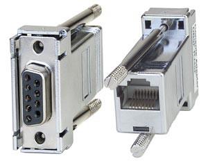 DB-9F serial adapter