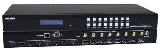 Low-Cost 4K HDMI Video Matrix Switch: 4x4