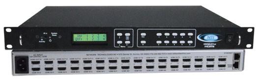 VEEMUX® SM-16X16-HD4K (Front & Back)