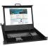 RACKMUX-V17HR-N (front) - Optional Hi-Res Rackmount VGA USB + PS/2 KVM Drawer